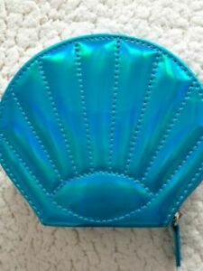 Avon Mermaid Shell Shaped Coin Purse, brand new in packaging,