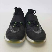 Nike Air Womens Zoom Running Shoes Black Low Top Geometric 843975-001 Laces 7.5