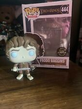 Funko Pop Movies Lord of The Rings Frodo Baggins Chase Oob Glow In The Dark!