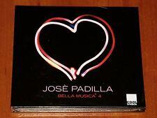 JOSE PADILLA BELLA MUSICA VOL 4 *LIMITED* BOX CASE DIGIPAK CD CAFE DEL MAR New