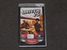 Driver 76 - Sony PSP Game VGC PAL - Cheap & Complete FREE & FAST POST