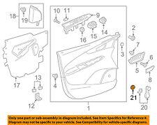 Chevrolet GM OEM 16-18 Spark Front Door-Window Handle Spacer 95395066