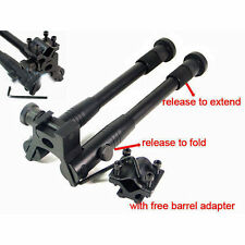 "Adjustable 8"" -10"" Tactical Bipod Stand 20mm Picatinny Barrel Rail Mount New"