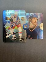 1996-97 Upper Deck SP Inside Info #IN1 Wayne Gretzky NY Rangers Pull-Out Card