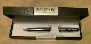 Balmain Paris Pen In Original Hard Case Gift Box Promo