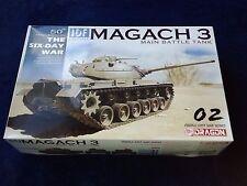DRAGON IDF 1/35 MAGACH 3 MAIN BATTLE TANK The 50th Anniversary Six Day War, NiB!
