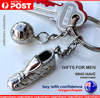 Footy AFL gift Keyring Soccer AFL FIFA World Game Footy Keychain Football Gift