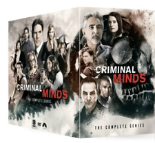 CRIMINAL MINDS Complete TV Season Series 1-15 - 85 DVD BOXSET - SEALED