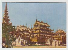 "GODFREY PHILLIPS CIGARETTE POSTCARD - ""Our Glorious Empire"" #29, Mandalay Burma"