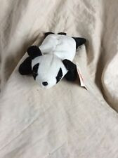 Zangeen Inc. 1996 Panda Little Luvables Bean Bag Type Retired 8 Inches Cutie Pie
