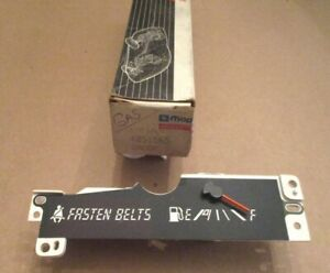NOS Mopar 4051565 fuel gauge/seat belt warning 1983-1985 K-Car, Reliant Aries