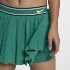 Nike Court Victory Womens Pleated Tennis Skirt Green Size Large L 933218-370