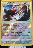 Carte Pokemon CHELOURS 113/145 REVERSE Soleil et Lune 2 SL2 Française NEUF