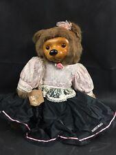 "Vintage Robert Raikes Bear ""Kitty"" K1188/15000 Original Dress & Tag"