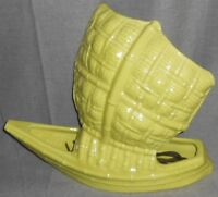 1953 Chartreuse Color COMER CREATIONS Asian Sailing Ship TV LAMP/PLANTER