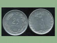 TURQUIE  25 kurus 1959  ( bis )