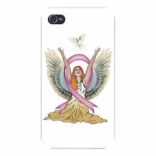 Angel & Dove Breast Cancer Awareness FITS iPhone 5 5s Snap On Case Cover New