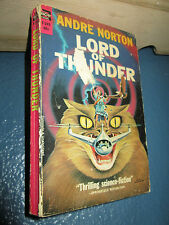 Lord of Thunder by Andre Alice Norton 1962 VINTAGE PAPERBACK