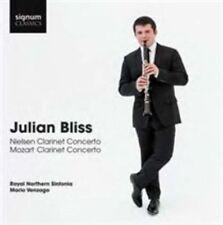 Nielsen/Mozart: Clarinet Concertos, New Music