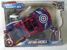 SEALED Captain America First Avenger Shield Assault 4X4 Vehicle RARE-Hasbro 2011