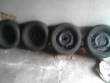 4 Sommerräder (Runflat) 195/55 R 16  87H, 4 Stahlfelgen für BMW 6 1/2 j x16 Zoll