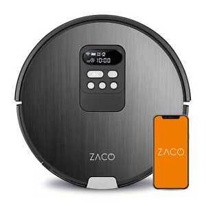 ZACO V85 2in1 Saugroboter mit Wischfunktion Ladestation Roboterstaubsauger smart