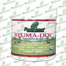 Balsamo Blanco Reuma-dol 4 Oz./ Withe Balm Reuma-dol 4 Oz.