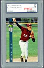 1992 Classic Four Sport  Derek Jeter New York Yankees #231 Pro 10