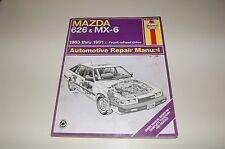 Mazda 626 MX-6 1983 91 90 89 1992 Haynes 61041 Service Repair Manual