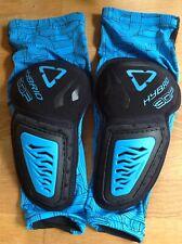 Leatt 3DF Hybrid Elbow Guards, Men's L/XL, Black/Blue