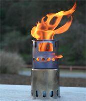 TOAKS STV-11 Titanium Backpacking Wood Burning Stove Outdoor Camping 225g