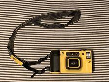 Minolta Weathermatic Dual 35 Underwater Film Camera w Bag & Accessories
