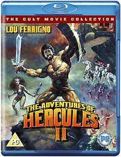 THE ADVENTURES OF HERCULES II (1985)  BLU-RAY   NEW   LOU FERRIGNO