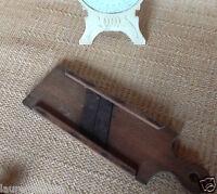 Ancienne mandoline de cuisine en bois et lames acier Circa 1950