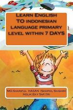 Learn English to Indonesian Language Primary Level Within 7 DAYS by Holik...