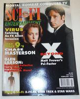 Sci-Fi Universe Magazine Matt Frewer David Duchovny February 1999 110514R1