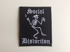 M050 // ECUSSON PATCH AUFNAHER TOPPA / NEUF / SOCIAL DISTORTION 6*7.5 CM