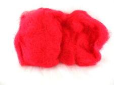 Sisal Fasern Rot Wooly 200 g Deko gefärbt Farbecht Füllmaterial Floristik