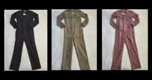 NEW WOMENS MADEWELL COVERALL JUMPSUIT IN BRITISH SURPLUS / DRIED ROSEBUD / BLACK