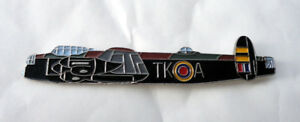 ZP01 Avro Lancaster RAF Heavy Bomber Pin Badge Atlas Editions Stamped