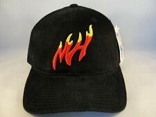 Miami Heat NBA Vintage Strapback Hat Cap American Needle Black