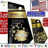 NANO Liquid Glass Screen Protector Universal HI Invisible Wipe-On Samsung iPhone