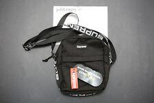 Supreme Cordura Black Travel Shoulder Bag SS18 Box Logo