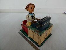 Vintage Linemar Japan Tin Busy Secretary Toy Battery Operated ONLY SPARE PARTS