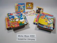 Micky Maus  Jahrgang 2002 / Nr. 1-52 komplett !!! Ehapa Verlag  64645