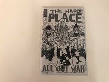 The Hard Place #3 Walking Dead Tribute Variant B&W (2017) NM Image Comics