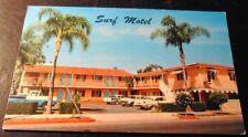 Vintage Postcard Surf Motel Santa Barbara Calif