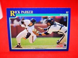 Score 1991 carte card Baseball MLB US NM+/M Kansas City Giants #58 Rick Parker