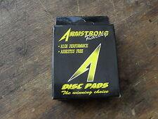 "Freno De Disco almohadillas ""Armstrong Racing 231010 Fit = Ebc Fa101 Yamaha Xt600 87-93 +"