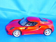 ALFA ROMEO 4C(red), Coupe, 1:18